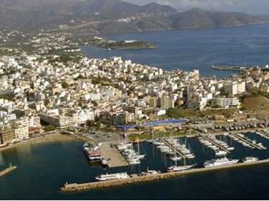 Marina of Agios Nikolaos Iraklion