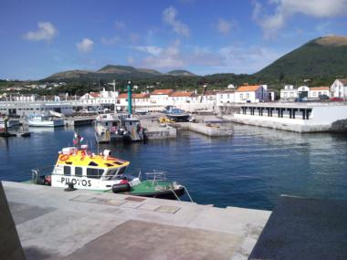 Porto de Pesca da Praia da Graciosa Azzorre