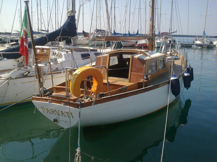 barca legno architetto Laurent gills in Liguria  Barche a vela usate 54507 - iNautia